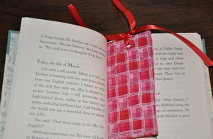 bookmark - kids sewing