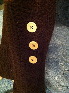 crochet leg warmers image 1