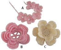 crochet flowers figure 1