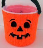 Halloween candy bucket face figure 6