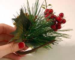 Christmas card holder 6