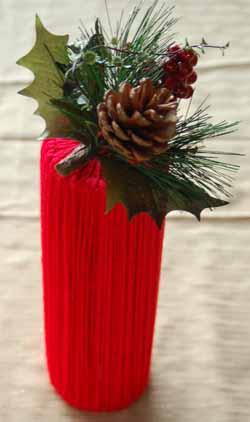Christmas card holder 8