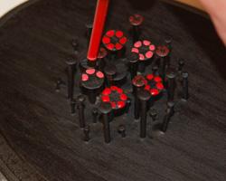 nail art flower bouquet image 10