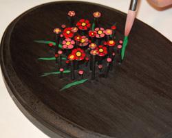 nail art flower bouquet image 11