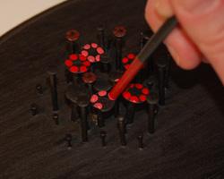 nail art flower bouquet image 9