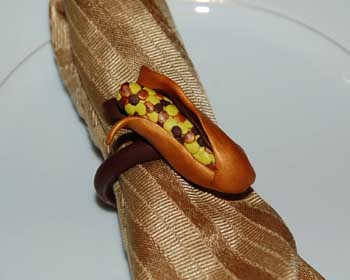 thanksgiving napkin ring image 1